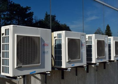 Commercial New AC Installation Photo